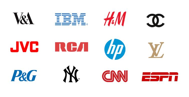 Letter mark logo types