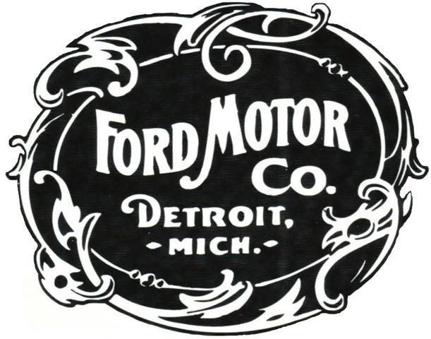 First Ford Logo