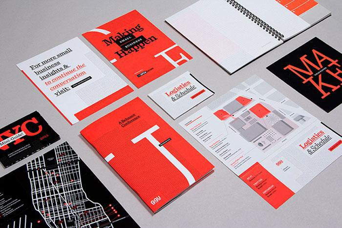 99U Conference identity package
