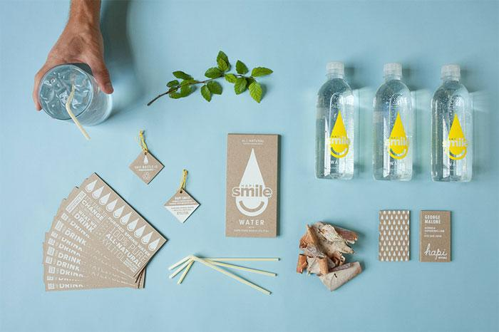 Hapi Smile Water identity package