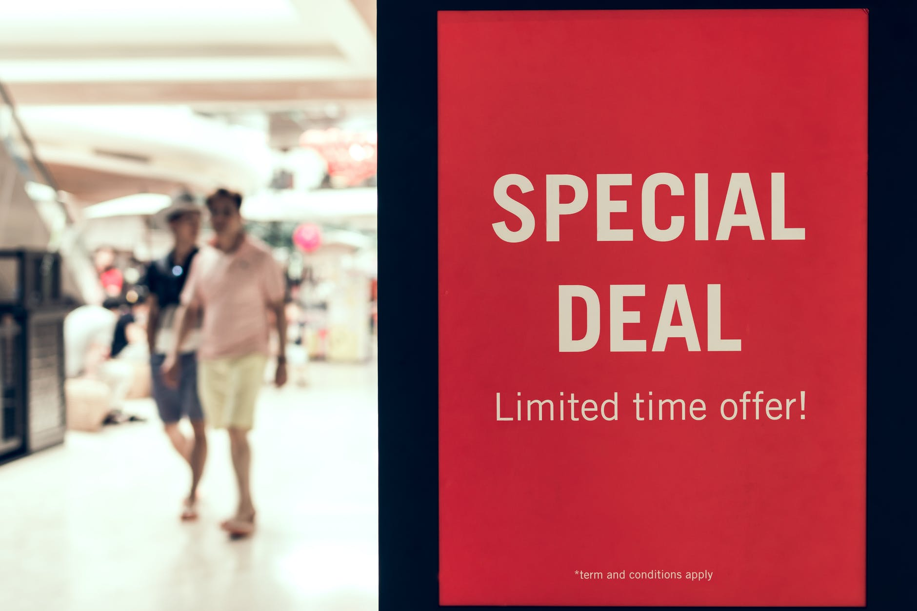irresistible offers and discounts