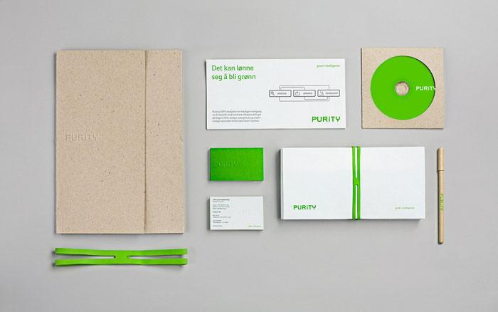 Purity identity package