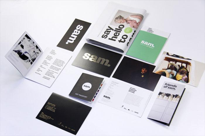 Shepparton Art Museum  identity package