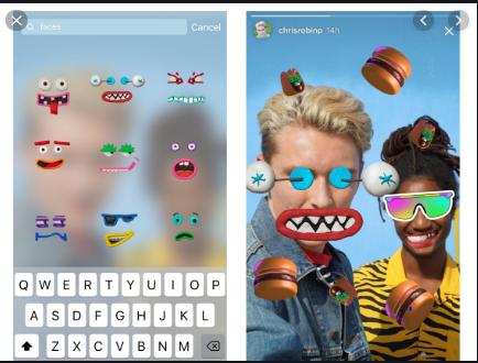 Use stickers - Instagram Story Ideas
