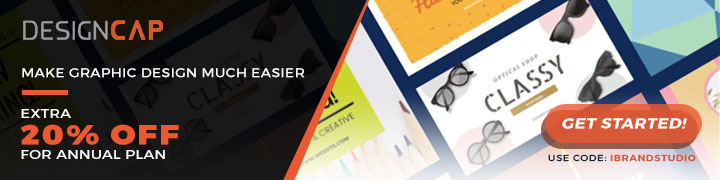 DesignCap 20% Off Banner 720×180