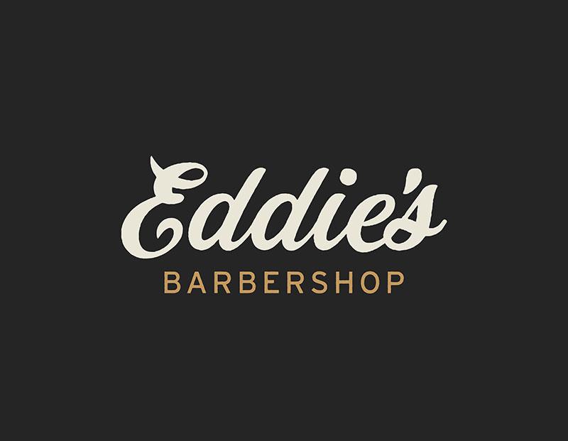 Idea de diseño de logotipo de barbería - Eddie's Barbershop