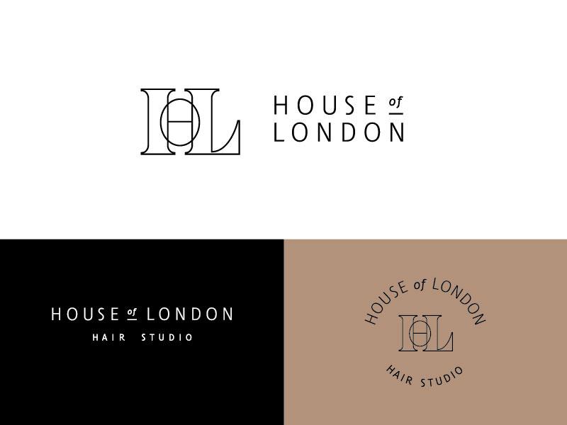 Idea de diseño de logotipo de barbería - HOL