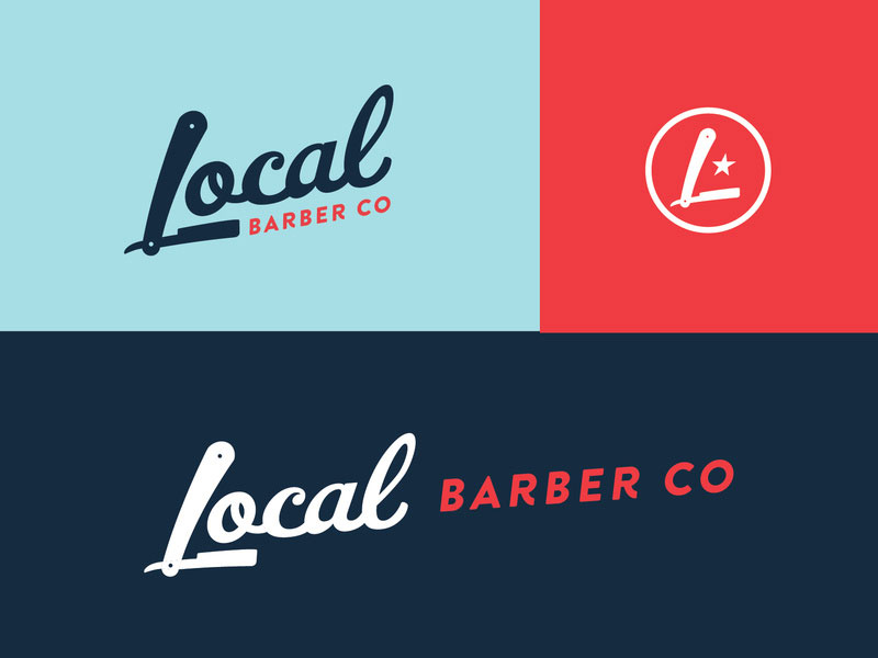 Idea de diseño de logotipo de barbería - Local Barber Co