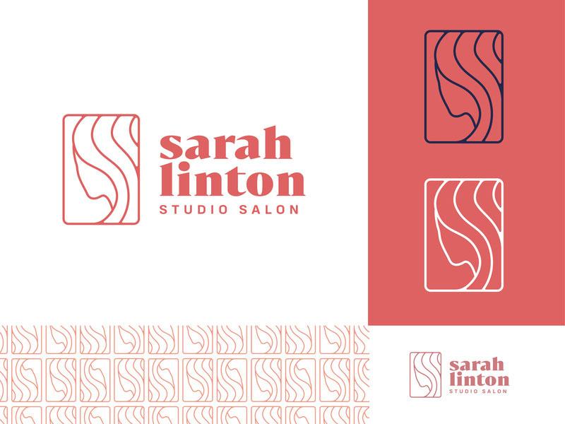 Barbershop Logo Design Idea - Sarah Linton logo concept