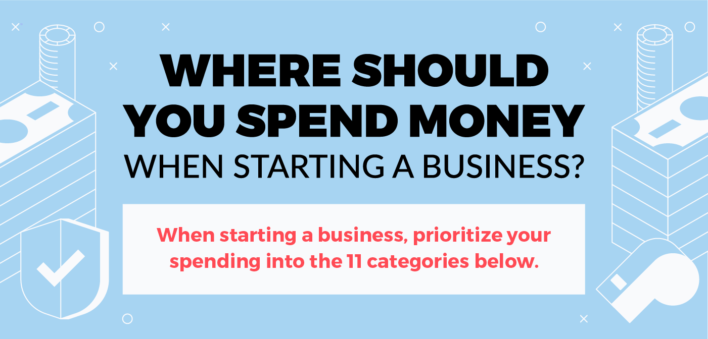 Where Should You Spend Your Money When Starting a Business [Infographic]