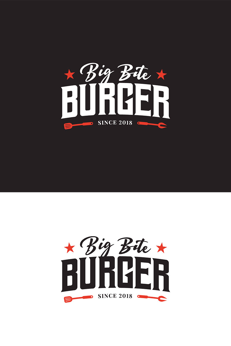 Big Bite Burger Logo