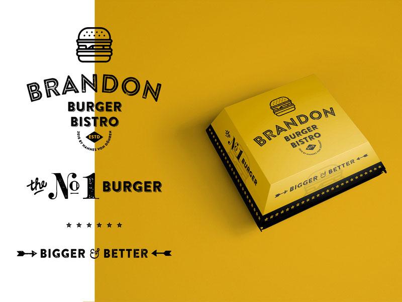 Brandon + Burger Logo