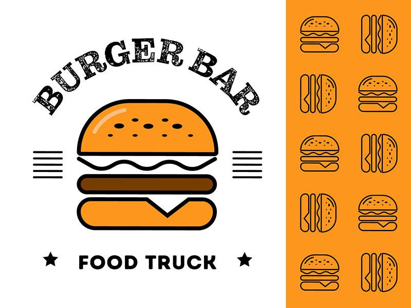 Burger Bar Logo