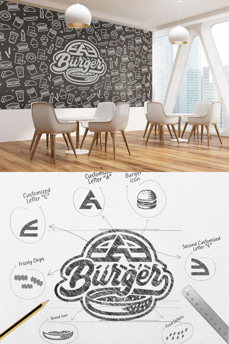 EAE Burger Logo