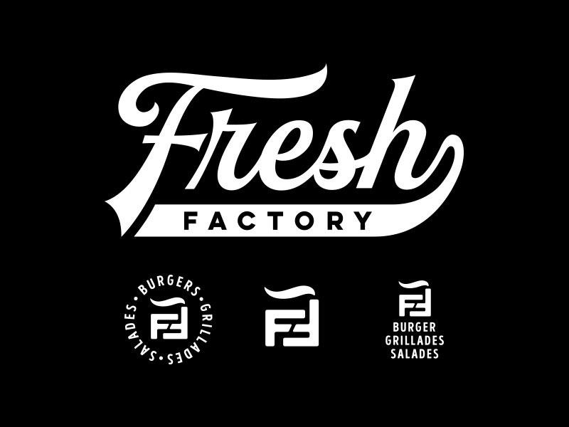 Fresh Factory Burger Logo