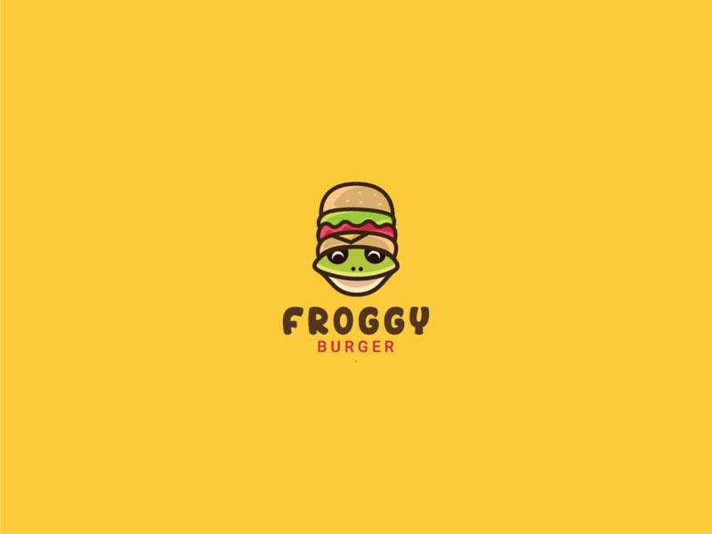 Froggy Burger logo