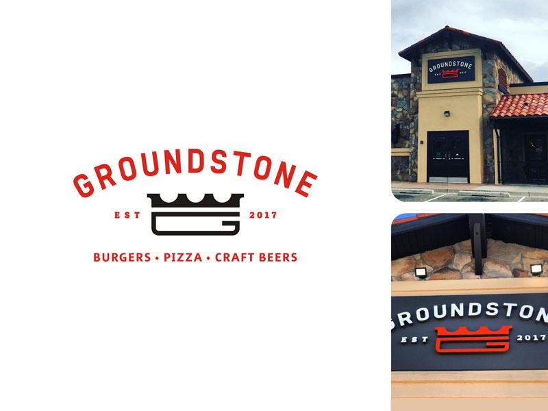 Groundstone Burger Logo