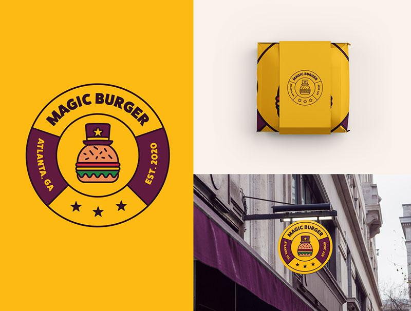 Magic Burger Logo