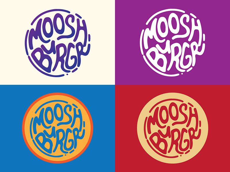 Moosh Burgr Logo