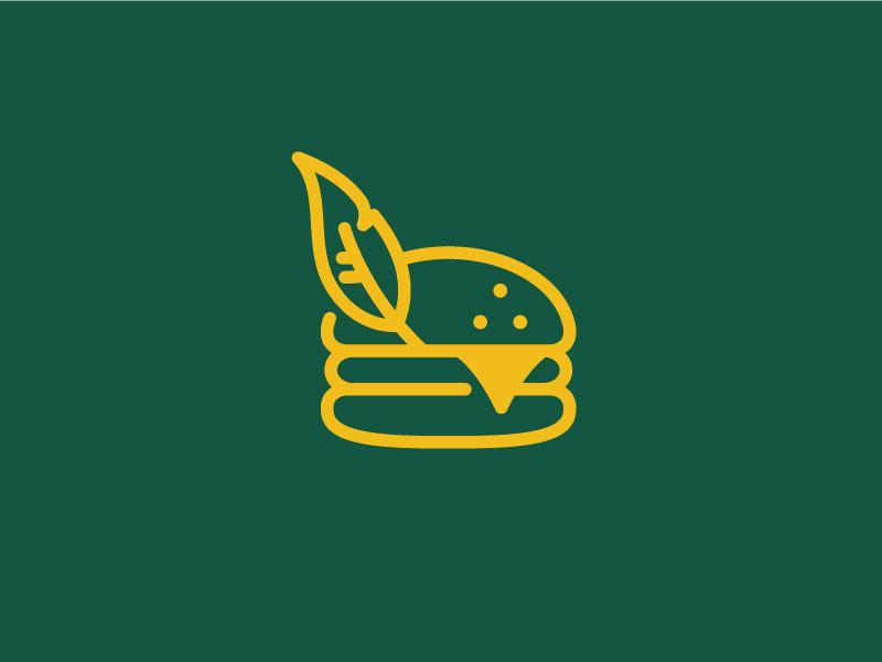 Robin Hood Gourmet Burger Logo