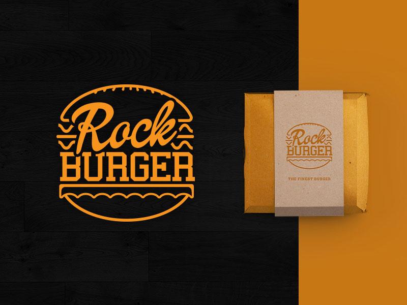 Rock Burger Logo