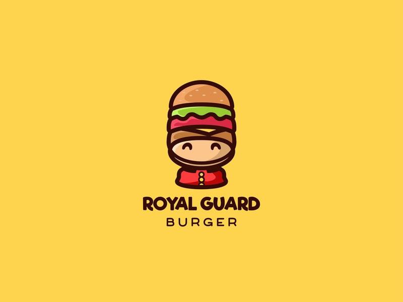 Royal Guard Burger Logo