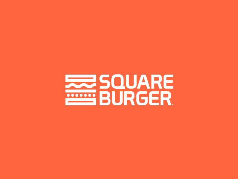 Square Burger Logo