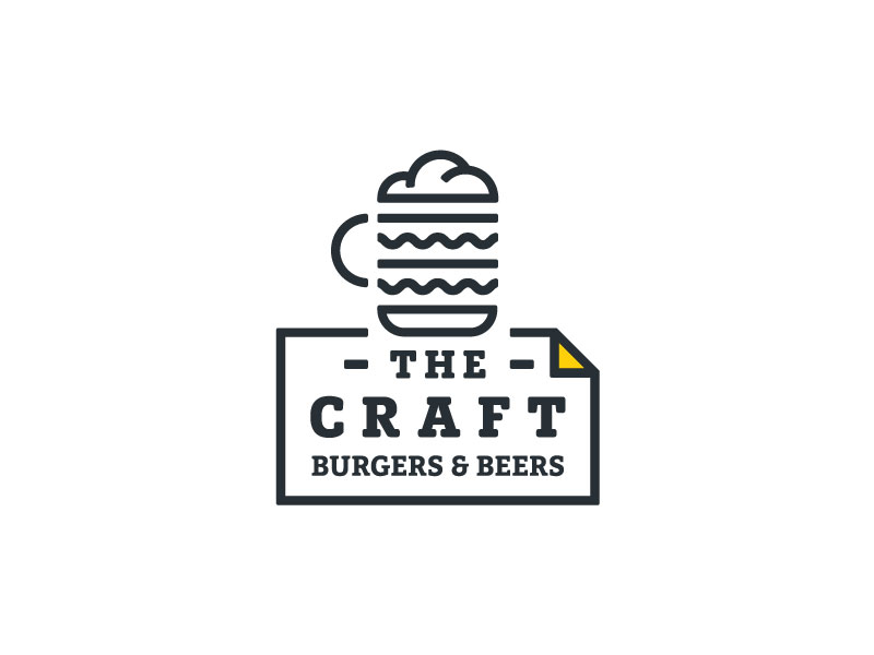 The Craft - burgers & beers Logo