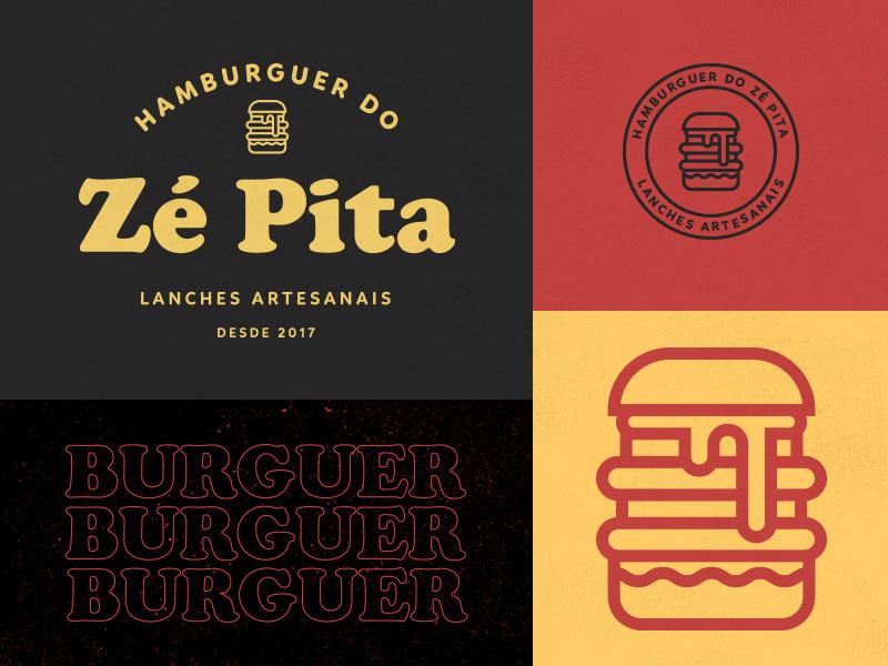 Ze Pita's Burger Logo