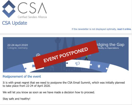 CSA Email Marketing