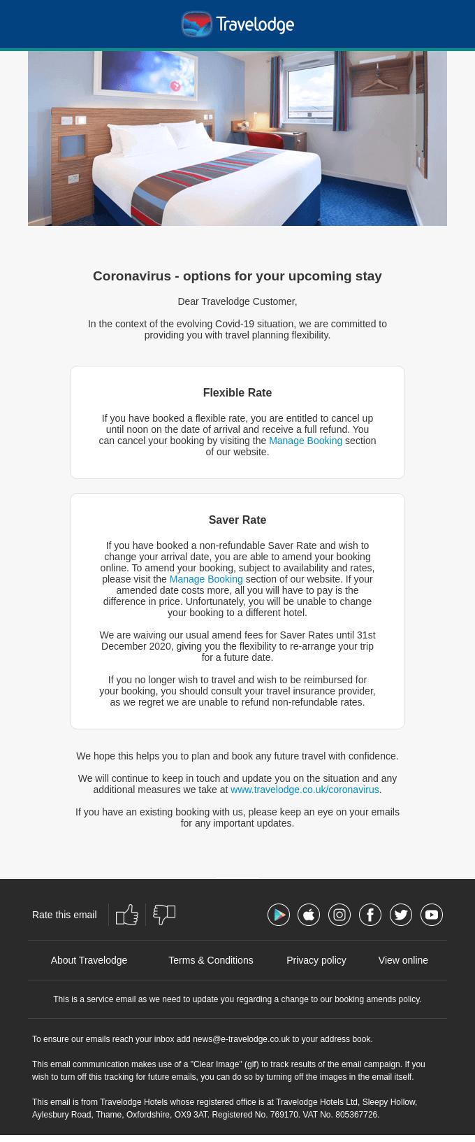 Travelodge Email Marketing
