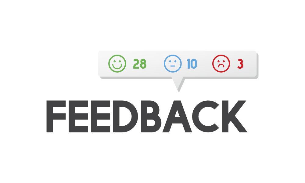 Asking to get feedback