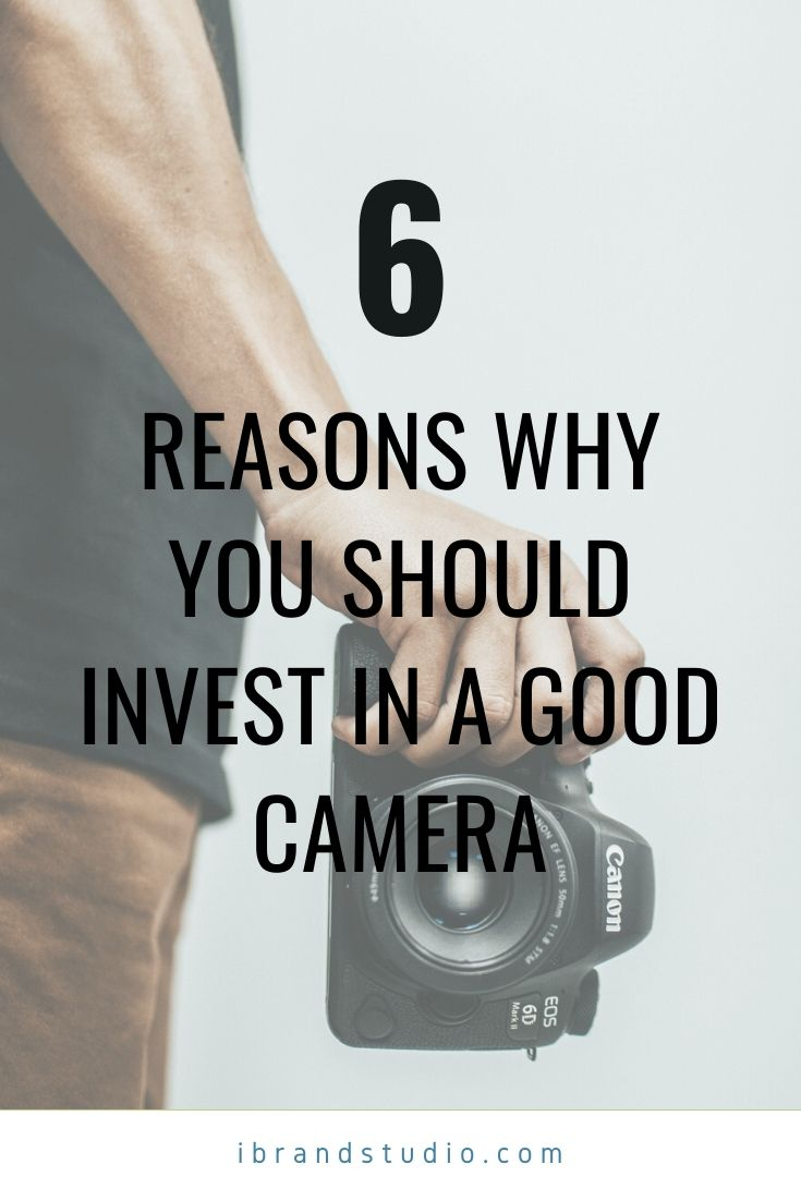 Why You Should Invest in a Good Camera for Your Photography Business_Pin