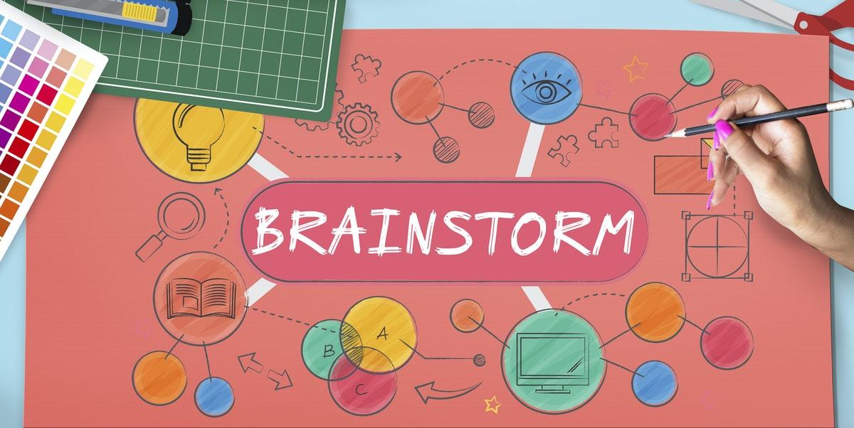 Do the brainstorming