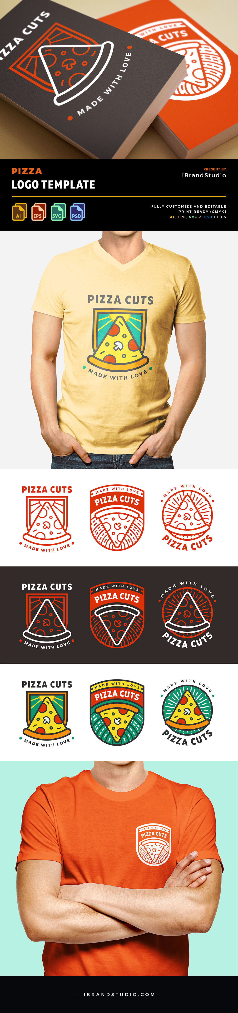 Free Logo for Pizza Business Preview