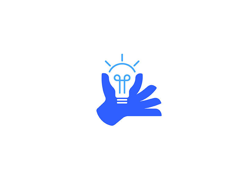 Light Bulb Logo - Idea giving by Dalibor Pajic