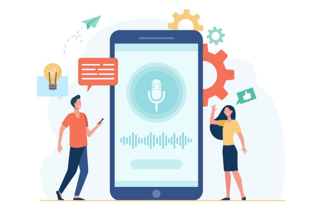 Voice Search Illustration
