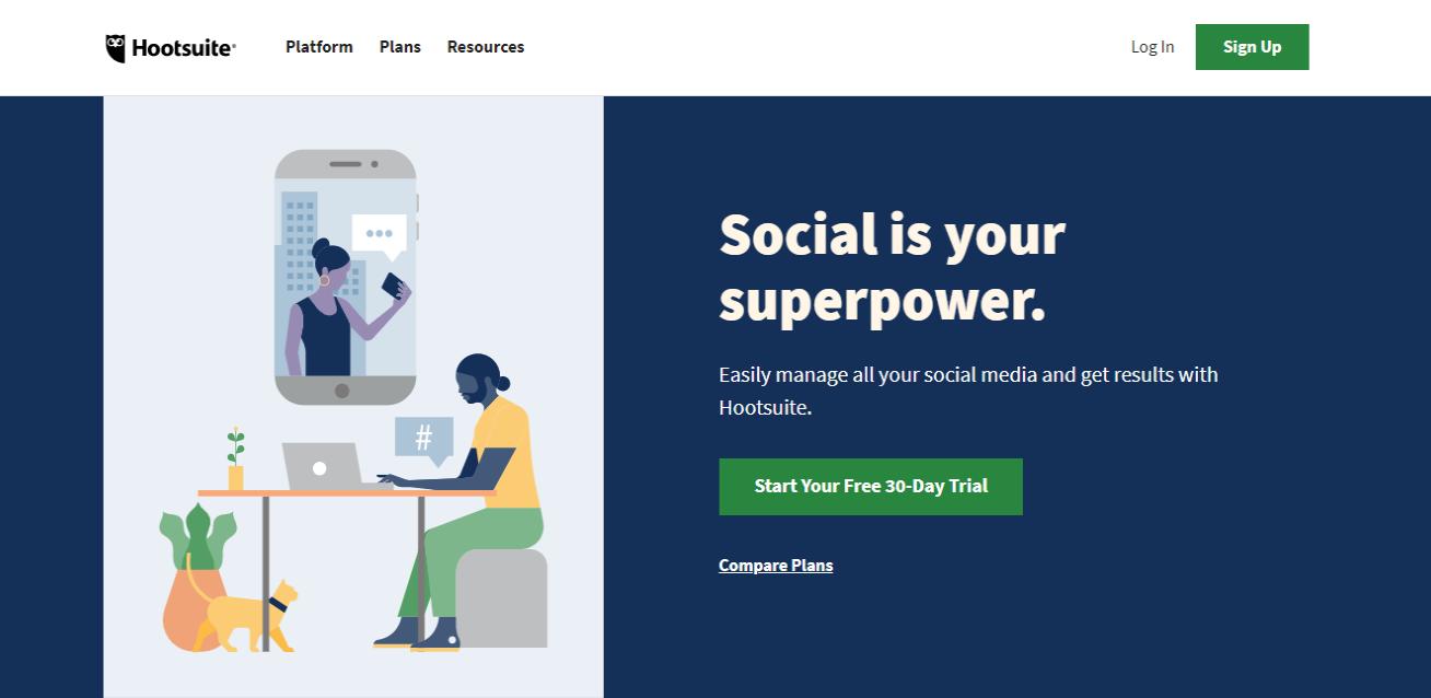 Hootsuite-Social-Media-Marketing-Management-Dashboard
