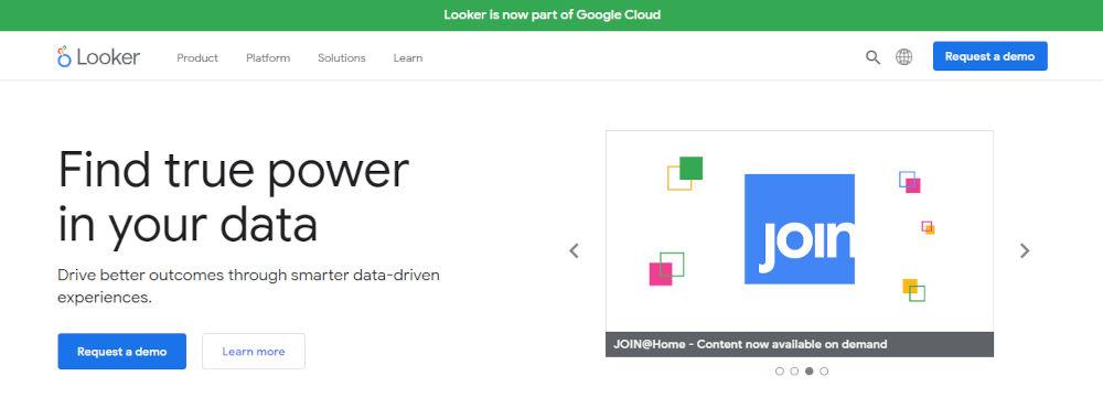 Looker-Business-Intelligence-BI-Data-Analytics-Platform