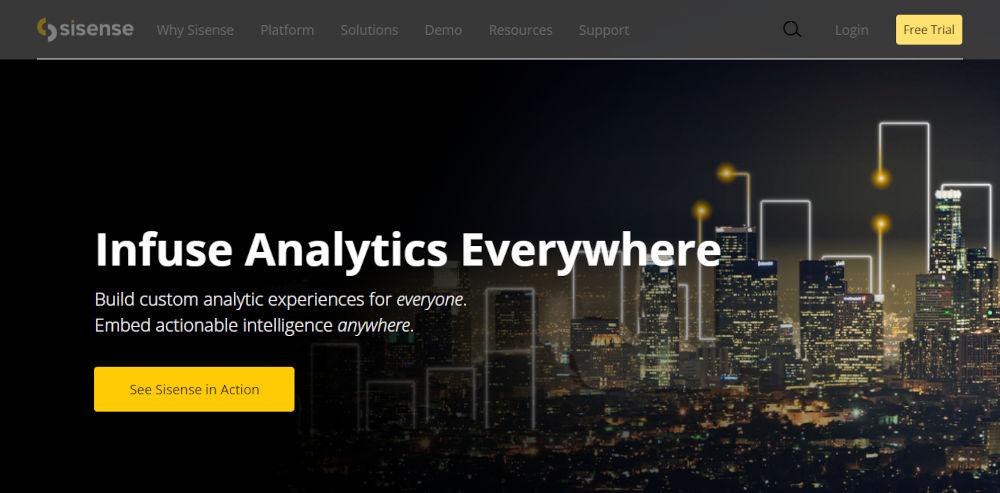 Sisense-Data-Analytics-Software-Infuse-Analytics-Everywhere