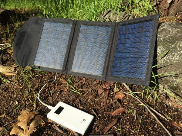 Portable Solar Panel Setup