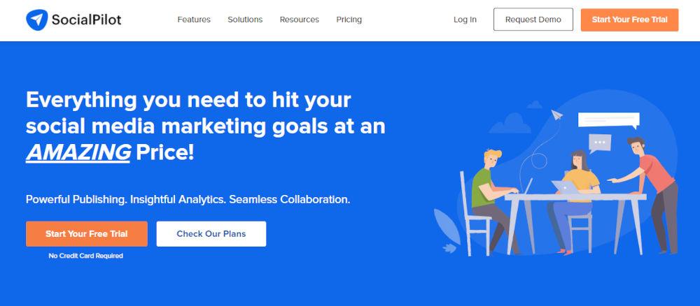 SocialPilot - Best Marketing Automation Software