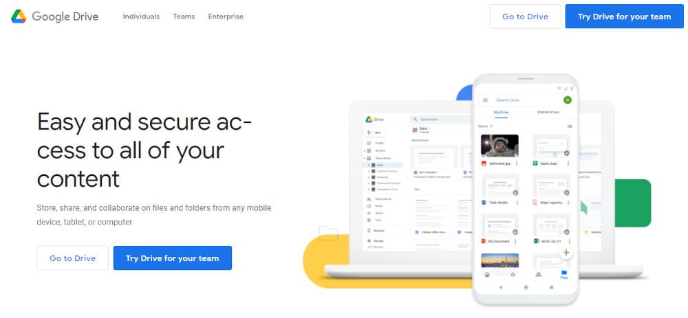 Google-Drive-Cloud-Storage-for-Work-and-Home