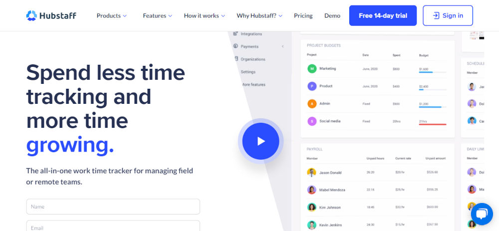Time-Tracking-and-Productivity-Monitoring-Tool-Hubstaff