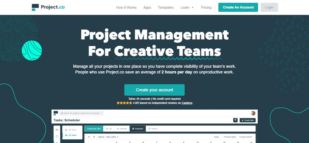 Project.Co for Graphics Designers