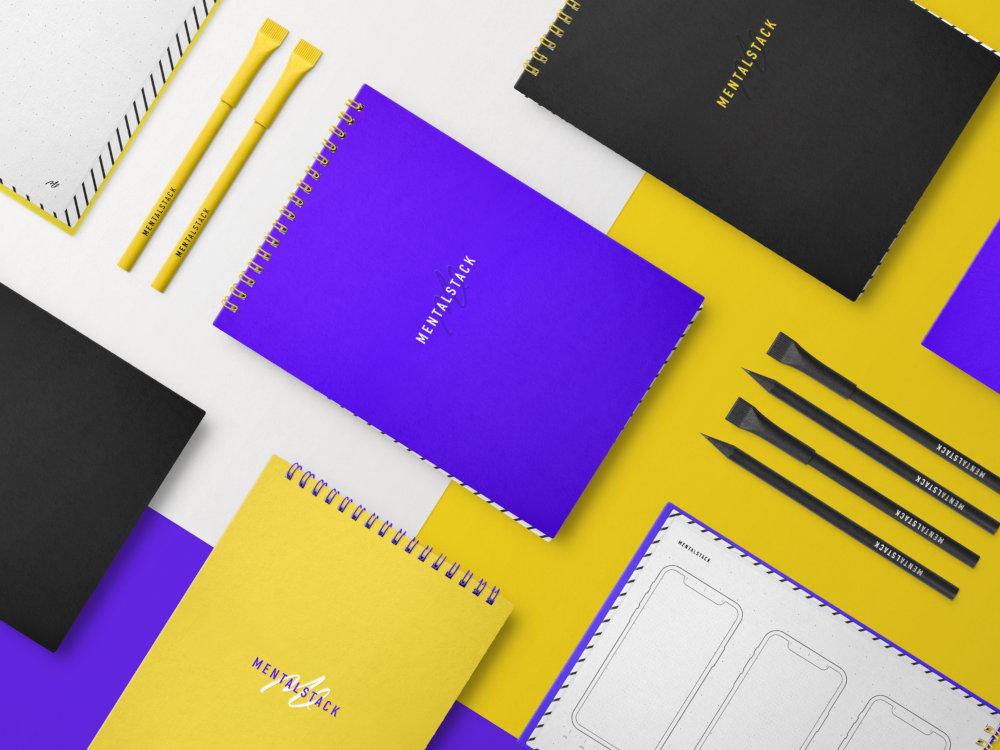 Branded Pens, Pencils, Notebook
