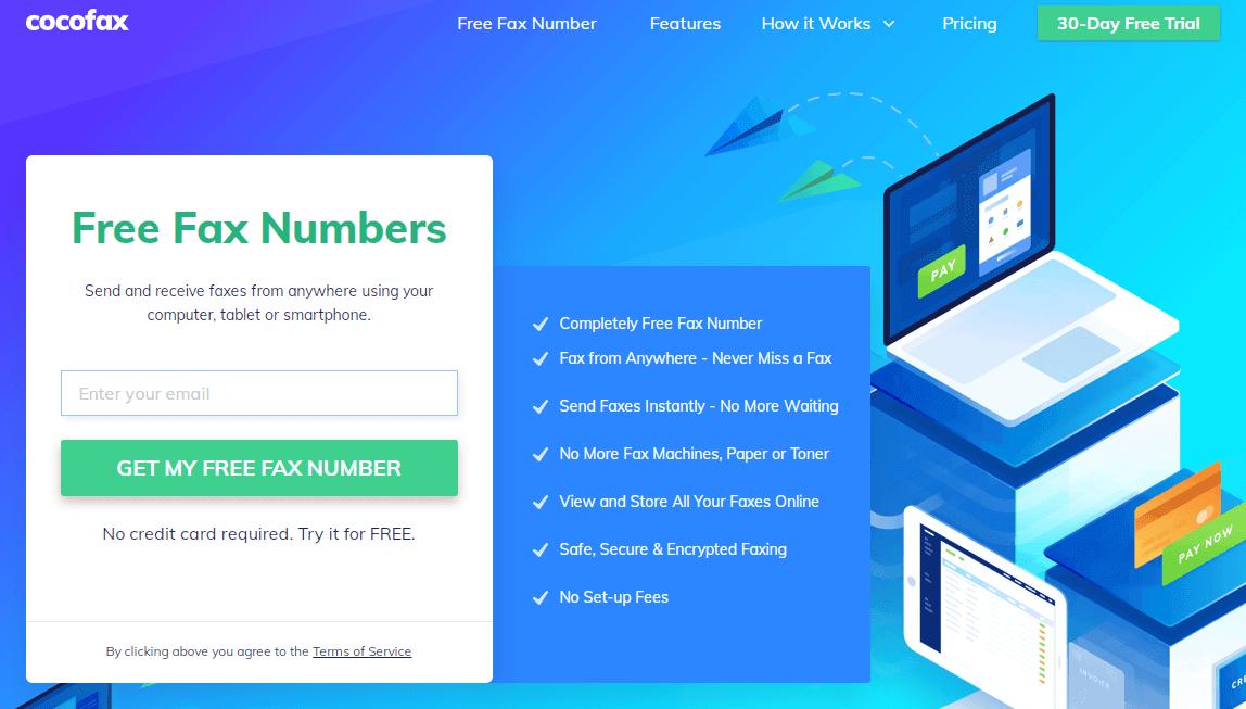 Cocofax Top Fax Services