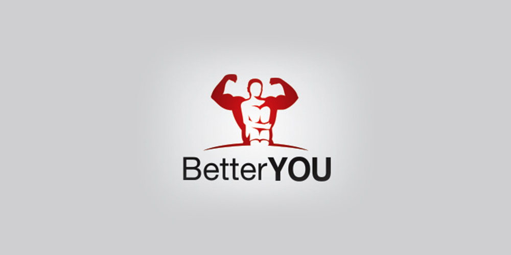 Better YOU Gym Logo Design