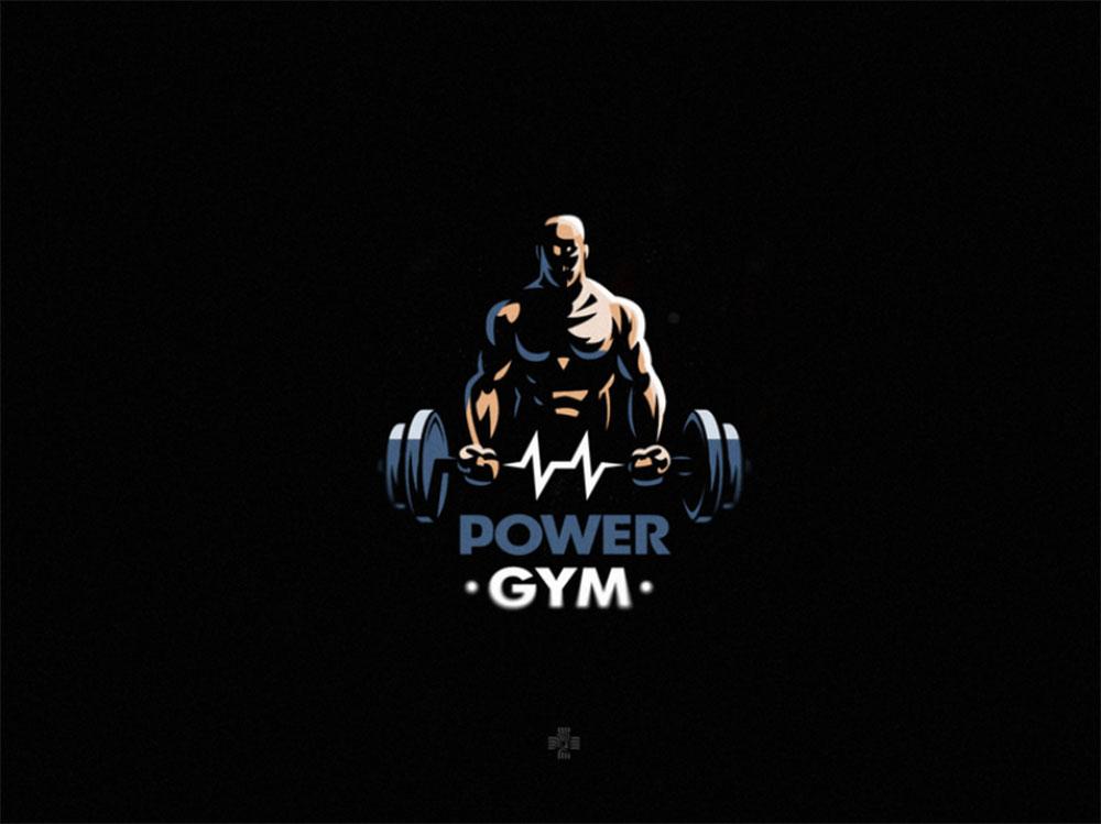 Power Gym Logo Design