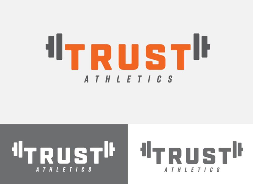 Trust Athletics Fitness Logo